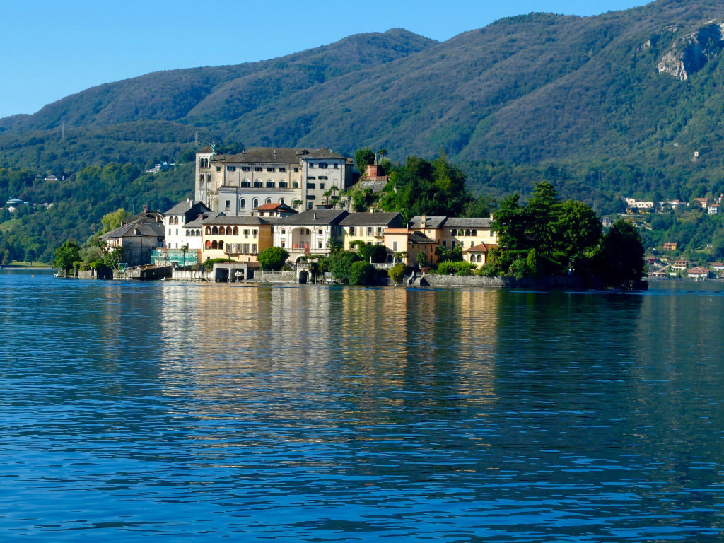 Italian Lakes magic Lago d'Orta